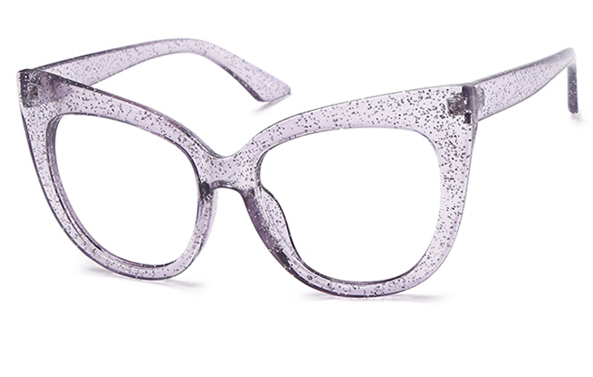 Kitman Cateye Eyeglasses, Black;purple;pink;tortoiseshell