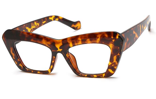 Loletta Cateye Eyeglasses, Tortoiseshell;champagne