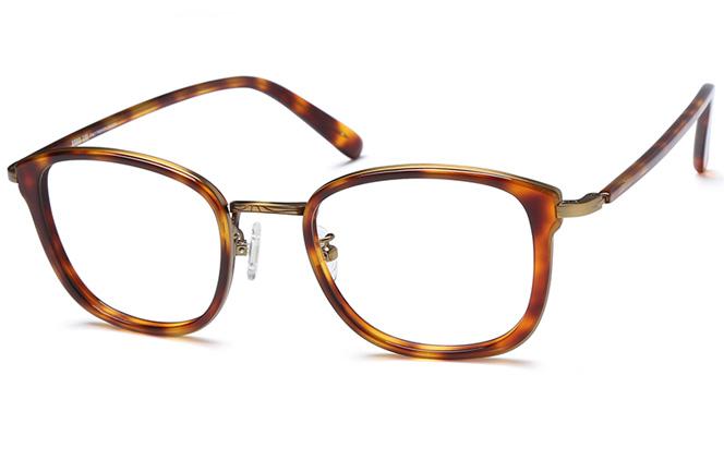 Dickens Rectangle Eyeglasses, Tortoiseshell