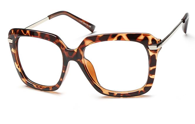 Zhou Square Eyeglasses, Tortoiseshell