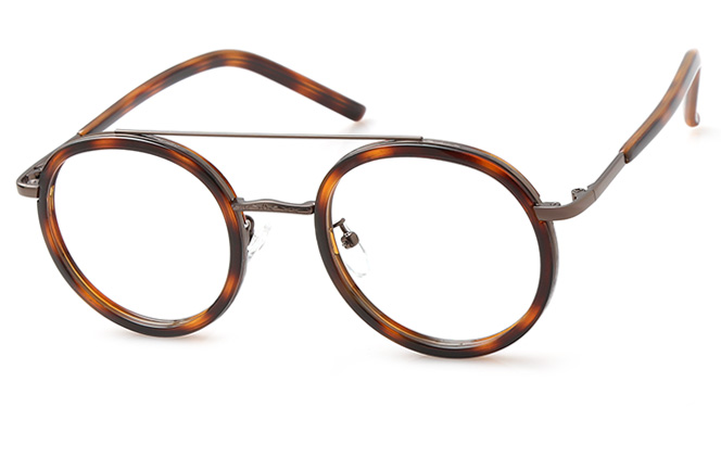 200522 Aviator Glasses, Tortoiseshell