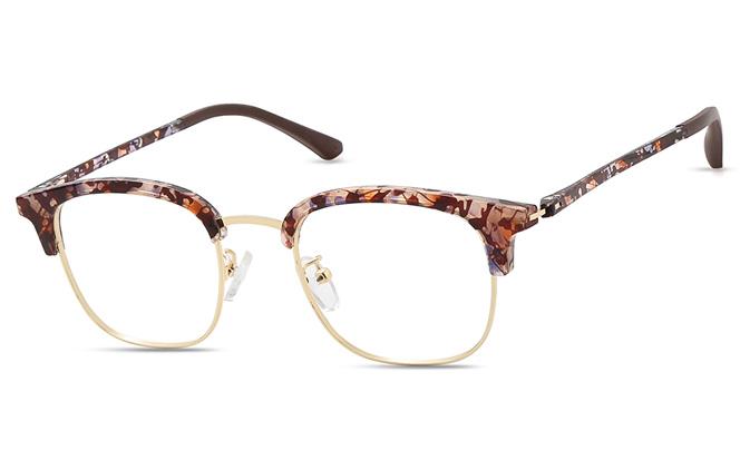 200526 Browline Glasses, Tortoiseshell