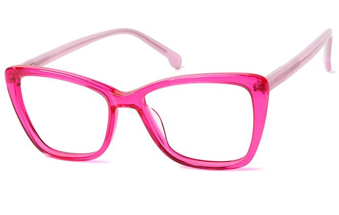 200545 Cateye Spring Hinge Glasses