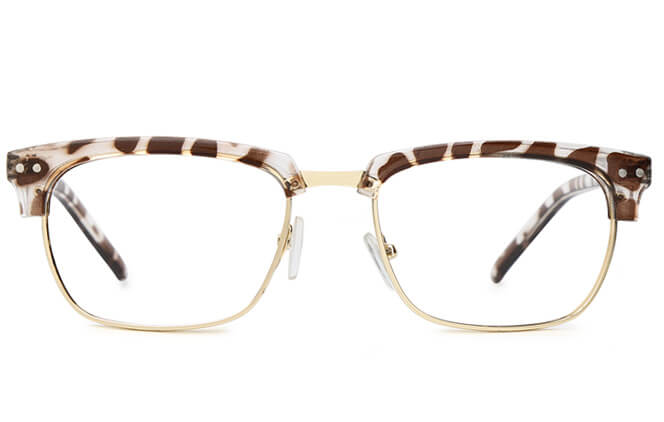 Odell Browline Rectangle Eyeglasses