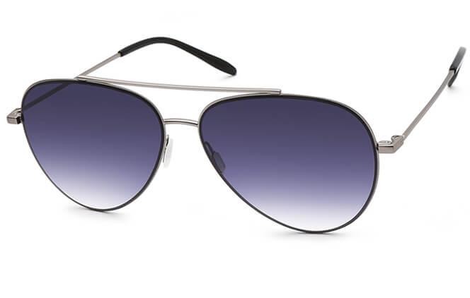 Timeka Aviator Sunglasses, Grey