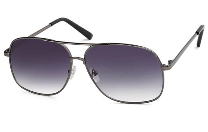 Charisse Aviator Sunglass, Grey;gradient grey