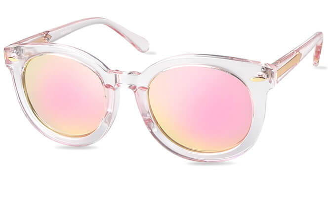 Guylaine Round Polarized Sunglasses фото