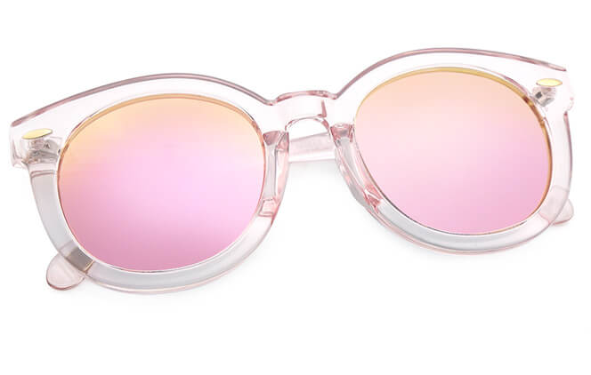 Guylaine Round Polarized Sunglasses