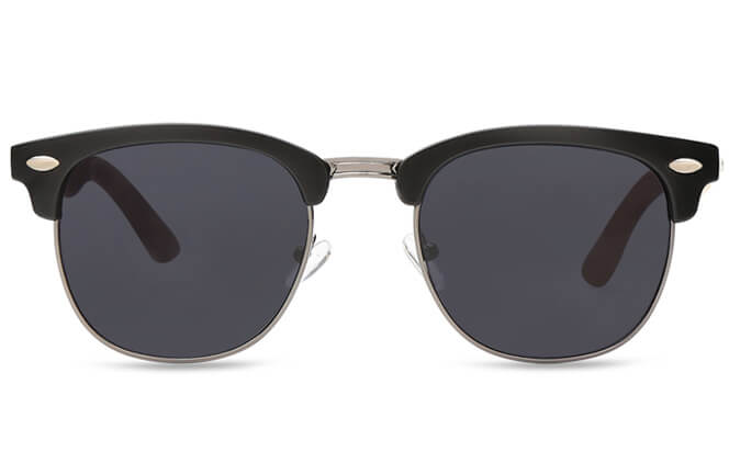 Sabrina Browline Metal Sunglasses
