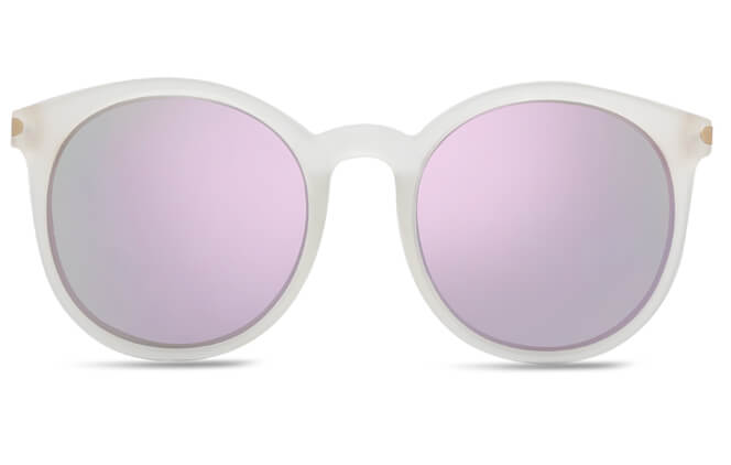 Lucricia Round Polarized Sunglasses