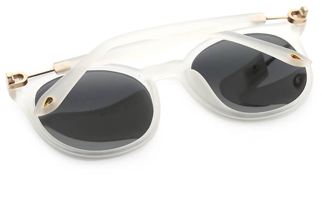Lucricia Round Polarized Sunglasses