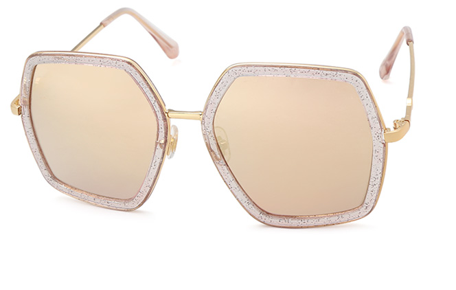 Geraldine Polygon Sunglasses фото