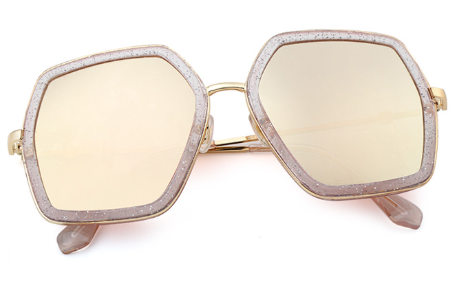 Geraldine Polygon Sunglasses