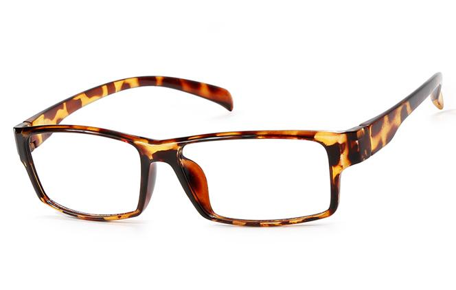 B00761 Rectangle Glasses, Black;blue;tortoiseshell