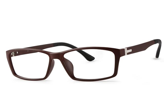 B00764 Rectangle Glasses, Tortoiseshell;black;brown