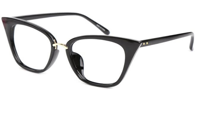 Endi Trendy Cat eye plastic frame