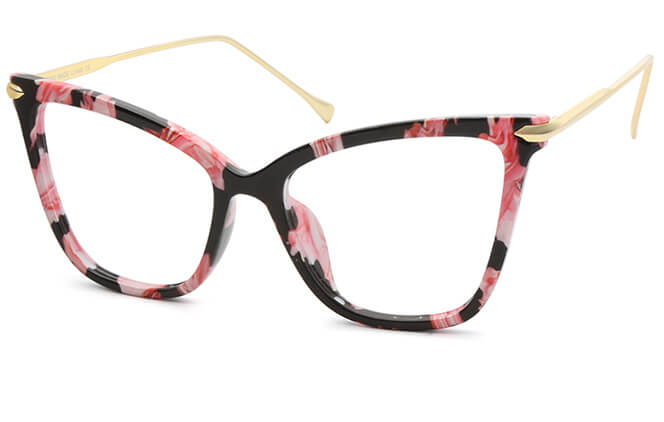 Christian Cat eye Plastic Eyeglasses фото