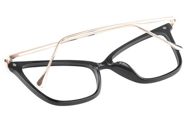 Christian  Cat eye Plastic Eyeglasses