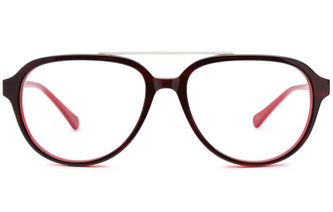 Krystal Aviator Eyeglasses