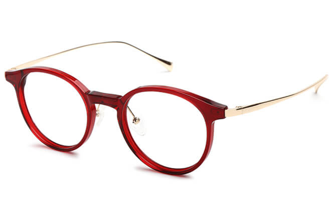 Ella round Eyeglasses фото
