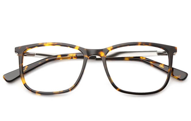Abe rectangle Eyeglasses