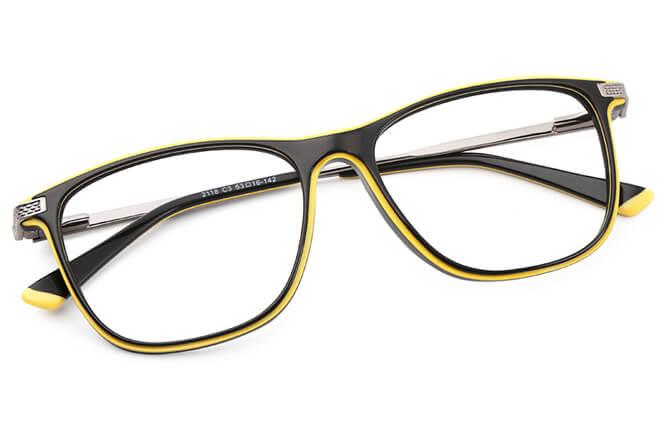 Michel Rectangle Eyeglasses