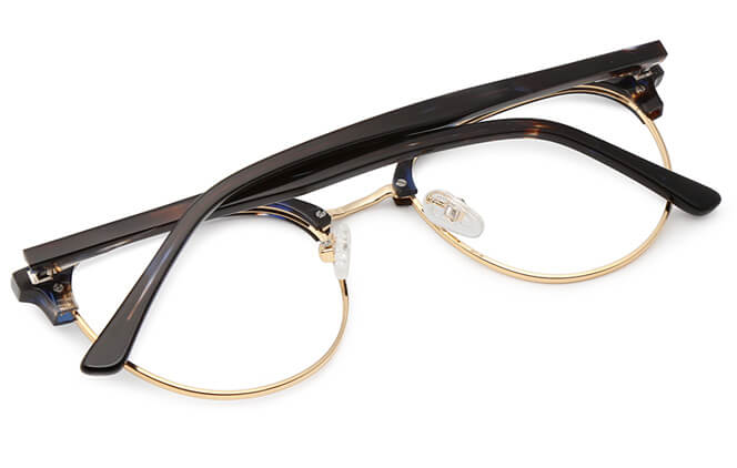 Anstice Browline Oval Eyeglasses