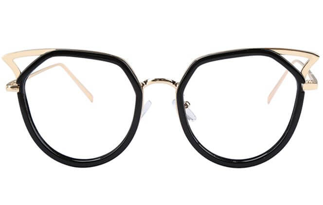 Anne Full Frame Mixed Material Cat Eye Frame