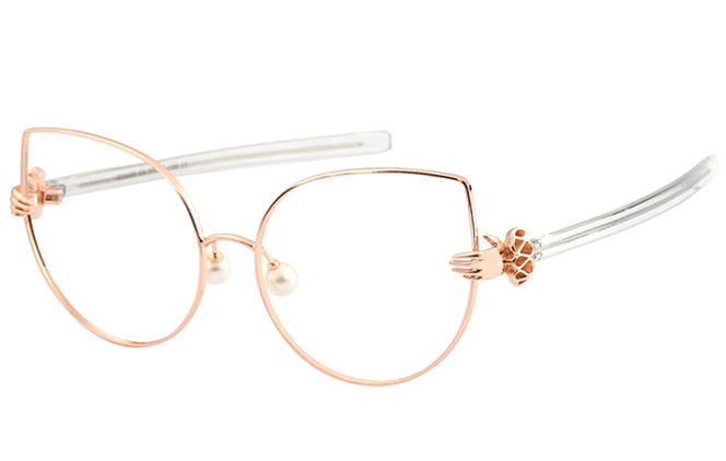 Buy Chrischris Cat eye Eyeglasses