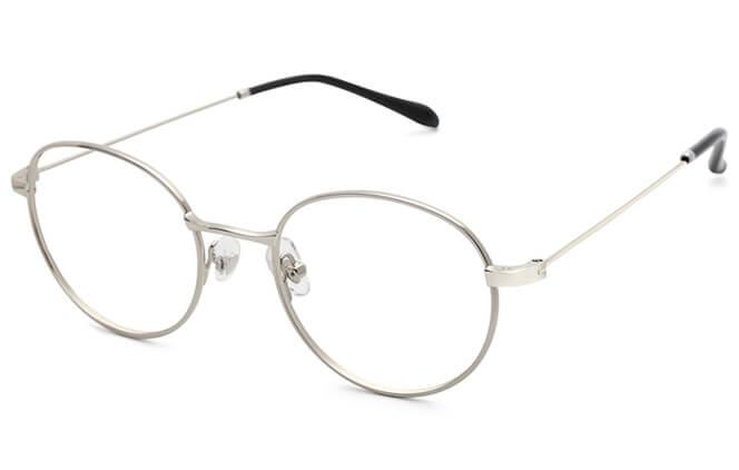 Enid round Metal Eyeglasses фото