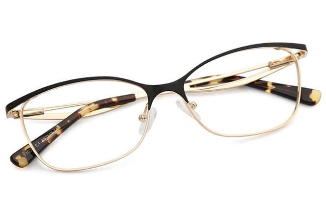 Ellen Metal Eyeglasses