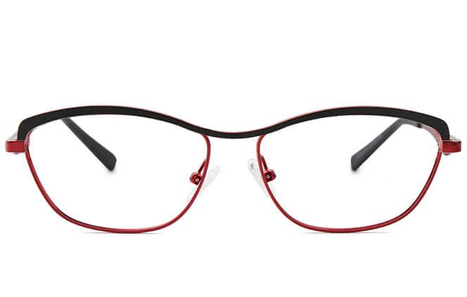 Emerald Metal Eyeglasses