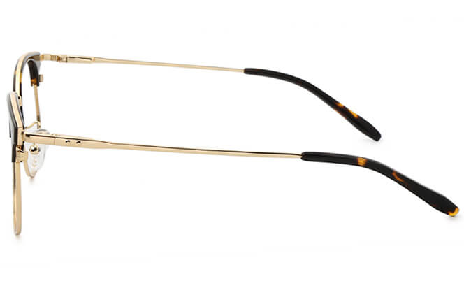 Bertie Browline Rectangle Eyeglasses