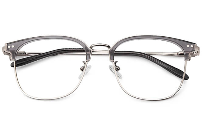 Bertie Browline Rectangle Eyeglasses