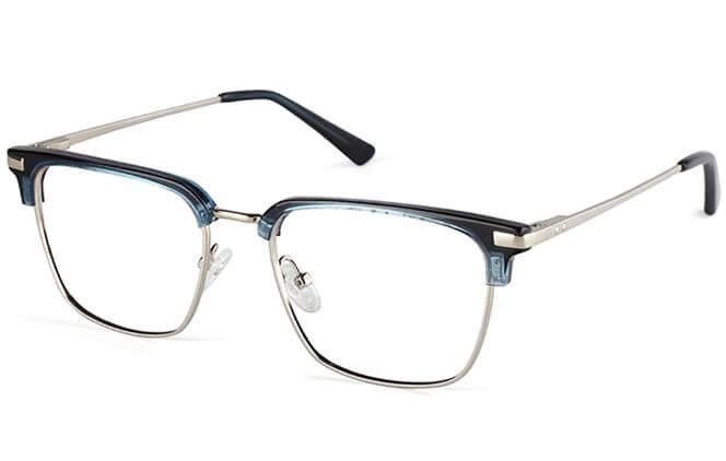 Brett Browline Rectangle Eyeglasses