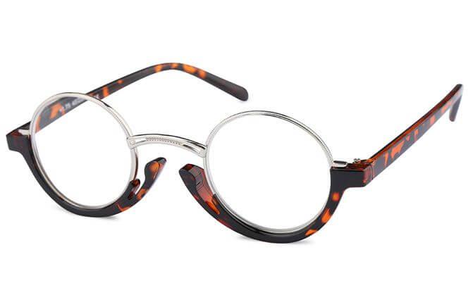Valerie Round Readers Glasses, Tortoiseshell