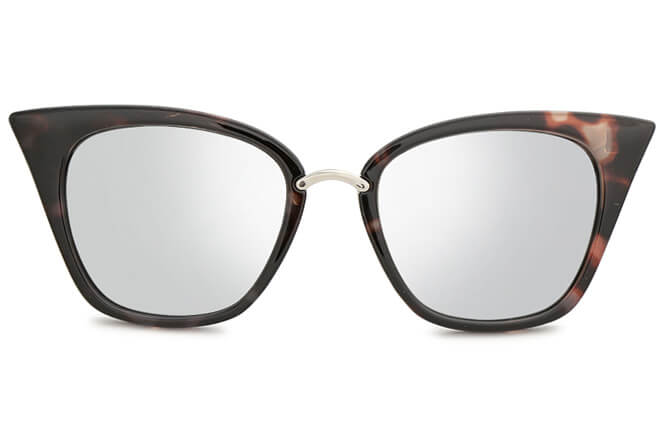 Bertram Trendy Cat eye plastic sunglasses