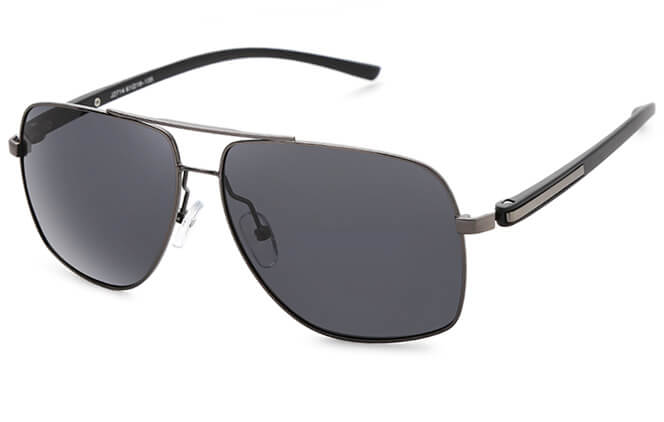 Zack Aviator Rectangle Sunglasses фото