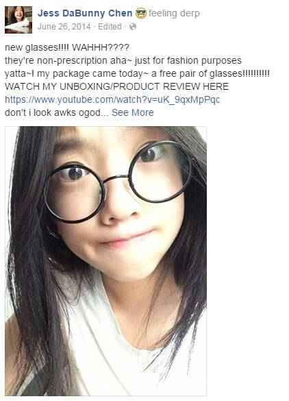 Glasseslit Testimonials - new glasses!!! WAHHH???? they're non-prescription aha~ just for fashion purposes yatta~! my package came today~ a free pair of glasses!!!!!WATCH MY UNBOXING/PRODUCT REVIEW HERE <a href-