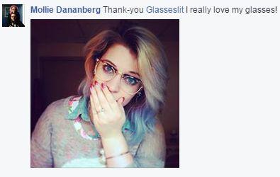 Glasseslit Testimonials - Thank-you Glasseslit I really love my glasses!