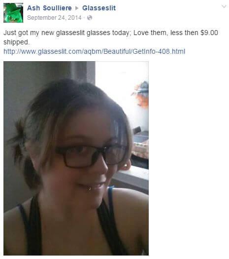 Glasseslit Testimonials - Just got my new glasseslit glasses today;Love them,less then $9.00 shipped.