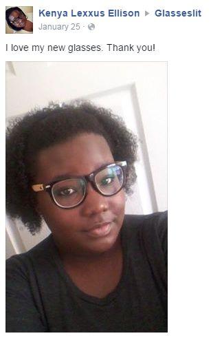 Glasseslit Testimonials - I love my new glasses.Thank you!