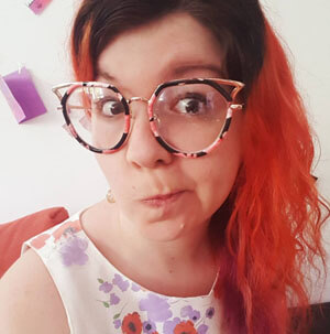 Glasseslit Testimonials - Love my Anne Full Frame Mixed Material Cat Eye specs... so many compliments! Keep stocking gorgeous quirky eyewear like these and I will keep sending you my money! :)