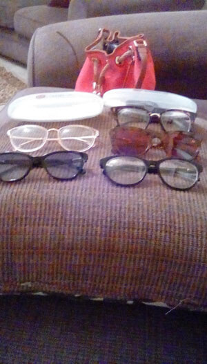 Glasseslit Testimonials - This is my part of my glasses addiction thank you glasseslit  for the cute nice quality glasses